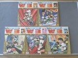最近の仕入れ「サンデー・コミックス【月刊W3(全5巻揃い)】」