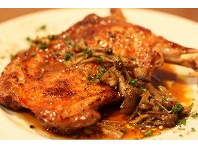 フランス鶏のスモークグリル