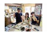 【榊原タタミ店】豆たたみ作り体験教室やってま~す。
