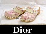 Dior/ディオール サボ ウッドサンダル スタッズ付36 1/2