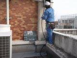 高等学校空調機設置電気設備工事