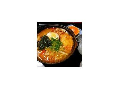 当店自慢の味噌煮込み鍋(うどん・ラーメン)