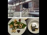 有馬の温泉寺で、自力整体と普茶料理☆