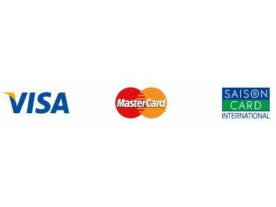 クレジットカードお支払い導入致しました。