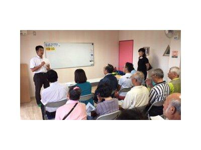 泉佐野警察防犯係りによる研修会を行いました。