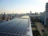 秋葉原の新築工事における14kW太陽光発電システム