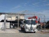 認証工場申請に向けて、建屋組立作業始まりました。