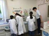 小学生のための医薬品適正使用と調剤体験 8月1日