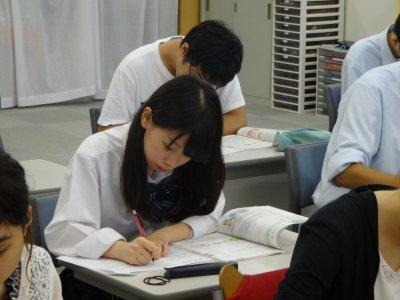 レポート授業!!