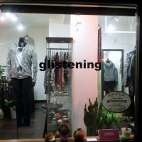 glistening