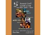 5月3日は【ROIKI】×【アミーゴボーイズ】初出演 2man Live♪