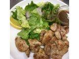 豚ヒレ肉のステーキ定食