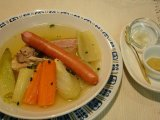 播州鶏と野菜のポトフ