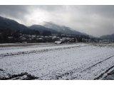 ★ 春なのに積雪、めちゃくちゃ寒い朝ととなりました。