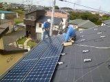 住宅用太陽光発電の施工実績