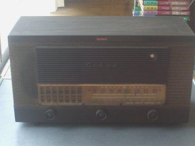 最近の仕入れ「【真空管ラジオPD-38(大阪音響オンキョー)】」