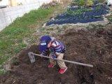 123.【出来るだけ深く耕す。その1】土作りも身体づくりも。