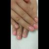 お客様ネイル~桜ピンク~