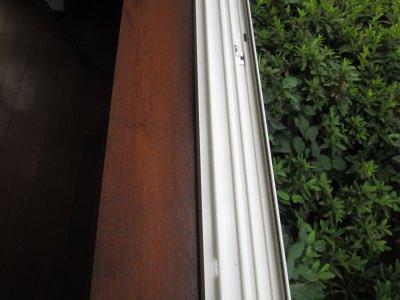 窓ガラスの枠の清掃について№2
