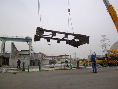 火力発電所 定期点検工事完了
