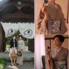 堺の南宗寺・彼岸法要茶会の単衣着物とヘアアレンジ。