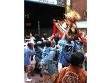 天王祭と鳥越祭り。