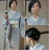 きもの鶴さんから届いた単衣の訪問着。