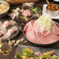 """大衆和牛酒場""""コンロ家""""~霜降り和牛鍋と神戸牛ホルモン鉄板焼~"""