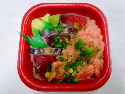 【10月の限定丼】カツオのたたき丼