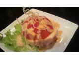 丸ごとトマトのサラダ 蟹明太ソース