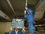 市内 地下駐車場電気設備修繕