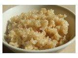 玄米ごはんは圧力鍋で炊き上げたふっくら・もちもち玄米です