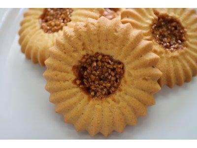 キャラメルアーモンドクッキー