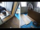 神戸市須磨区天神町にて賃貸一戸建の改装工事が始まりました!改装後賃貸物件になります☆小型の駐車場付!