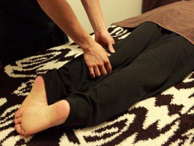 足からリンパの詰まり・むくみを解消(60分)