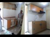 神戸市兵庫区熊野町での改装工事を引き続き行っています!キッチンの入れ替えの様子です☆