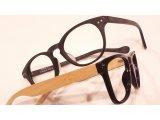 竹の眼鏡。使い込む楽しさ。