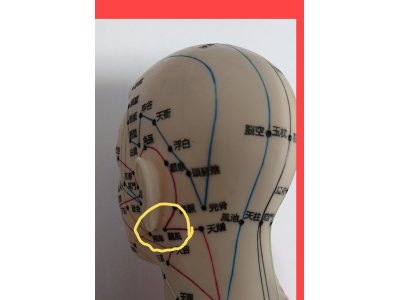 耳に関係する重要なツボ