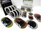 偏光レンズ各種、見え味を体験できます。