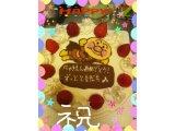 【オリジナルキャラケーキ(^_-)-☆)