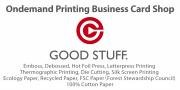 【AM11時までの入稿で当日発送】オンデマンド印刷・オフセット印刷・名刺印刷ショップ【グッド・スタッフ】