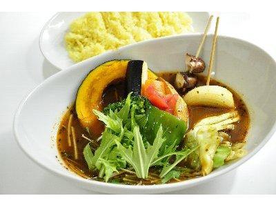 10種の野菜スープカレー
