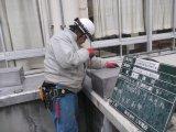 市立高等学校空調機改修電気設備工事