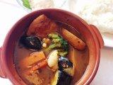 炙り焼きチキンのスープカレー