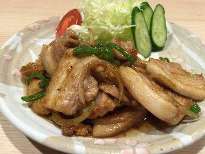 生姜焼き肉 ブタバラ焼き肉