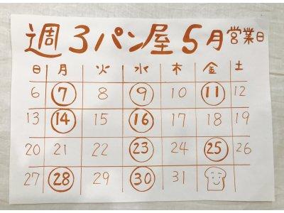 今月の後楽園店営業日カレンダー