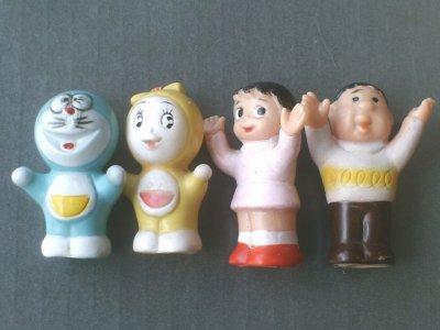 最近の仕入れ「【日テレ版・ドラえもん指人形】タカトク/昭和48年」