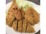 海鮮フライ4種盛り合わせ定食