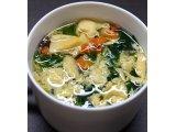 野菜とたまごのスープ