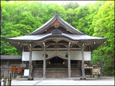 パワースポット(戸隠神社) に行ってきました